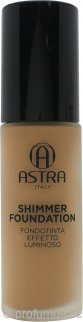 Astra Shimmer Foundation 28ml - 06 Carmel