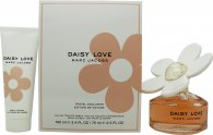 Marc Jacobs Daisy Love Gift Set 100ml EDT + 75ml Body Lotion