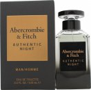 Abercrombie & Fitch Authentic Night Eau de Toilette 100 ml Spray