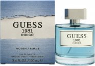 Guess 1981 Indigo for Kvinner Eau de Toilette 100ml Spray