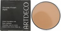 Artdeco Double Finish Compact Krem Foundation Påfyll 9g - 08 Medium Cashmere
