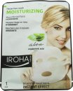 Iroha Nature Moisturizing Aloe Vera Tissue Face Mask 1 x Tissue Face Mask