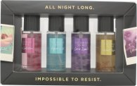 Victoria's Secret Kroppsmist Set 4 x 75ml (Pure Seduction + Aqua Kiss + Love Spell + Coconut Passion)
