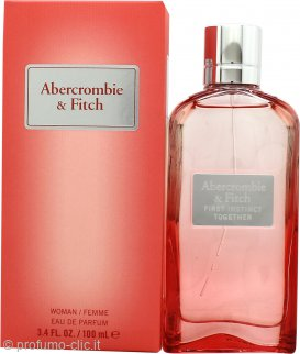 Abercrombie & Fitch First Instinct Together For Her Eau de Parfum 100ml Spray