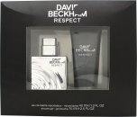 David Beckham Respect Gavesett 40ml EDT + 75ml Dusjsåpe