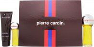 Pierre Cardin Presentset 30ml EDC + 80ml EDC + 100ml Aftershave Balm