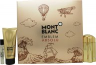 Mont Blanc Emblem Absolu Set Regalo 100ml EDT + 100ml Gel Doccia + 7.5ml EDT
