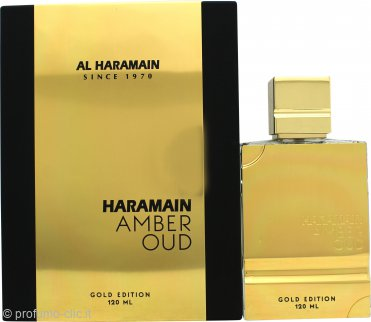 Al Haramain Amber Oud Gold Edition Eau de Parfum 120ml Spray