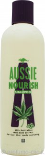 Aussie Hemp Nourish Shampoo 300ml