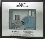 David Beckham Gift Set 1.0oz (30ml) Homme EDT + 1.0oz (30ml) The Essence EDT