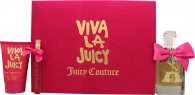Juicy Couture Viva La Juicy Gift Set 100ml EDP + 125ml Body Souffle + 10ml EDP