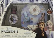 Disney Frozen II Gift Set 30ml EDT + 2x Nail Polish + Nail Gems