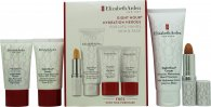 Elizabeth Arden Eight Hour Hydration Heroes Gift Set 75ml Hand Treatment + 15ml Daily Moisturiser + 15ml Skin Protectant + 3.7g Lip Primer