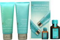 Moroccanoil Gift Set 75ml Original Shampoo + 75ml Original Conditioner + 15ml Treatment