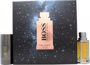 Hugo Boss Boss The Scent Gift Set 1.7oz (50ml) EDT + 2.5oz (75ml) Deodorant Stick