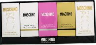 Moschino Miniatures Gift Set - 5 pieces