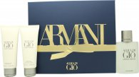 Giorgio Armani Acqua Di Gio Gift Set 100ml EDT + 75ml Shower Gel + 75ml Aftershave Balm