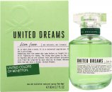 Benetton United Dreams Live Free Eau de Toilette 80ml Spray