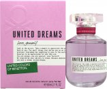Benetton United Dreams Love Yourself Eau de Toilette 80ml Spray