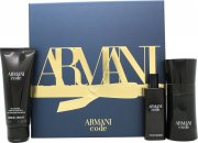 Giorgio Armani Armani Code Pour Homme Gift Set 50ml EDT + 75ml Shower Gel + 15ml EDT