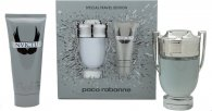 Paco Rabanne Invictus Gift Set 100ml EDT + 100ml All Over Shampoo