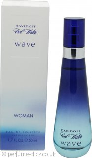 Davidoff Cool Water Wave Eau de Toilette 50ml Spray