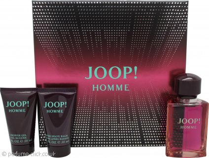 Joop! Homme Gift Set 75ml EDT + 50ml Shower Gel + 50ml Aftershave Balm