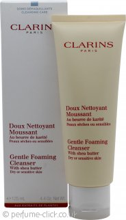 Clarins Skincare Gentle Foaming Cleanser with Shea Butter (Dry / Sensitive Skin) 125ml