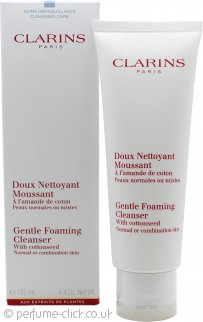 Clarins Cleansers and Toners Gentle Foaming Cleanser With Cottonseed 125ml Normal/Combination Skin