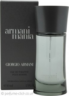 Giorgio Armani Armani Mania for Men Eau de Toilette 50ml Spray