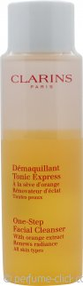 Clarins One-Step Facial Cleanser with Orange Extract 200ml All Skintypes