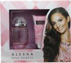 Alesha Dixon Rose Quartz Gift Set 100ml EDT + 100ml Body Lotion