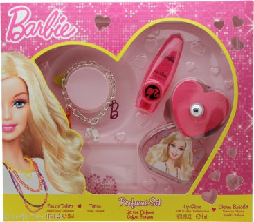 Barbie Set de Regalo 50ml EDT + Pulsera + Tattoo