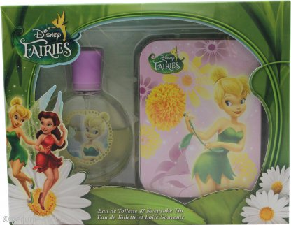 Disney Fairies Gift Set 50ml EDT + Tin