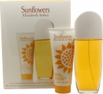 Elizabeth Arden Sunflowers Gavesett 100ml EDT + 100ml Body Lotion