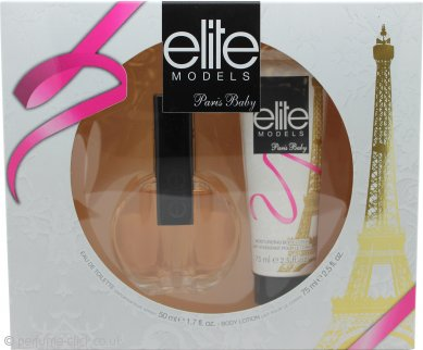 Elite Paris Baby Gift Set 50ml EDT + 75ml Body Lotion