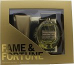 Fame & Fortune for Women Gift Set 100ml EDT + 100ml Body Lotion