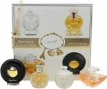 Lancome Precious Collection Miniatures Gift Set 7ml Cacharel Noa + 7.5ml Lancome Tresor + 4ml Ralph Lauren Safari + 4.8ml Paloma Picasso + Charm Bracelet
