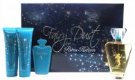 Paris Hilton Fairy Dust Gift Set 100ml EDP Spray + 90ml Shower Gel + 90ml Body Lotion + Mirror and case
