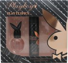 Playboy Play It Spicy Gift Set 30ml EDT + 75ml Body Spray