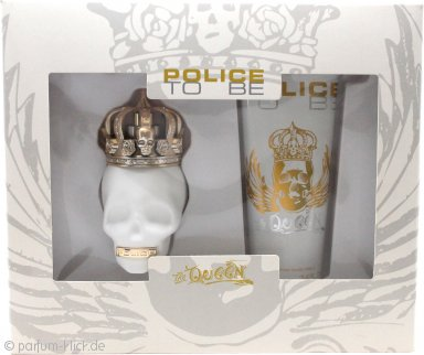 Police To Be The Queen Geschenkset 40ml EDT + 100ml Body Lotion