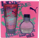 Puma Jam Woman Gift Set 20ml EDT + 50ml Shower Gel
