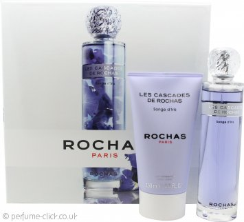 Rochas Les Cascades De Rochas Songe d'Iris Gift Set 100ml EDT + 150ml Body Lotion