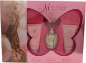 Mariah Carey Luscious Pink Giftset 30ml EDT + 50ml Body Lotion + 50ml Duschgel