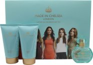 Made in Chelsea by Made in Chelsea Gift Set 50ml EDP + 150ml Shower Creme + 150ml Shimmer Lotion