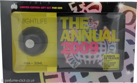 Ministry Of Sound Nightlife For Him Gift Set 30ml EDT + 2x Cd's + 1 DVD of The 2009 Annual