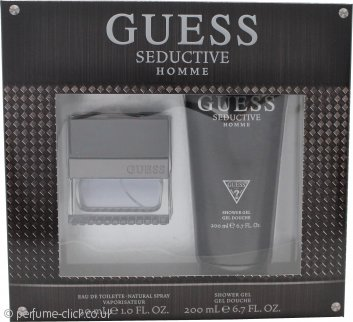 Guess Seductive Homme Gift Set 30ml EDT + 200ml Shower Gel