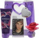 Justin Bieber Someday Gift Set 30ml EDP + 200ml Body Lotion + Keepsake Presentation Bag + Locker Room Freshener