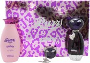 Katy Perry Purr Gift Set 50ml EDP + 120ml Body Lotion + Solid Perfume
