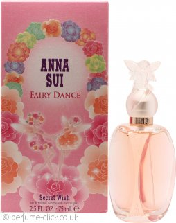 Anna Sui Fairy Dance Secret Wish Eau de Toilette 75ml Spray